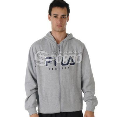 Sklep: bluza fila small logo hoody gm szary